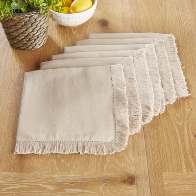Northfield Napkins Color: Taupe