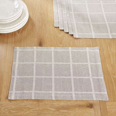 Jonesport Placemats Color: Gray