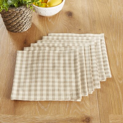 Otisfield Napkins Color: Gray