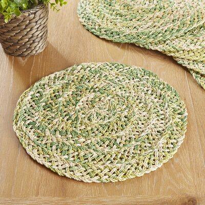 Barbados Placemats (Set of 6) Color: Green