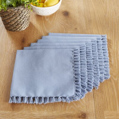 Robbinston Napkins Color: Blue