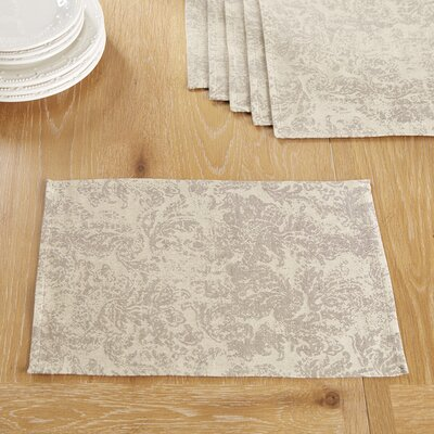 Norbury Placemats Color: Gray