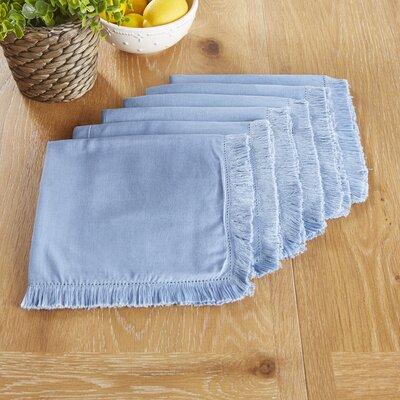 Northfield Napkins Color: Blue