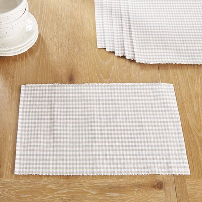 Harrogate Placemats Color: Dove
