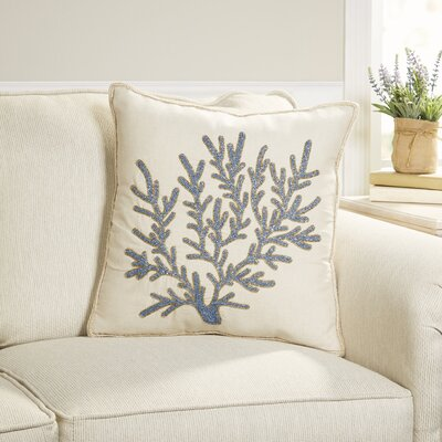 Shimmering Sea Coral Pillow