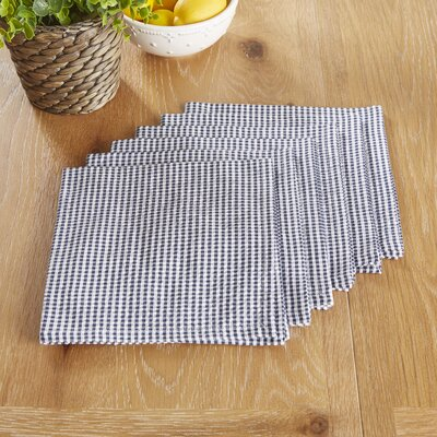 Stonington Napkins Color: Blue