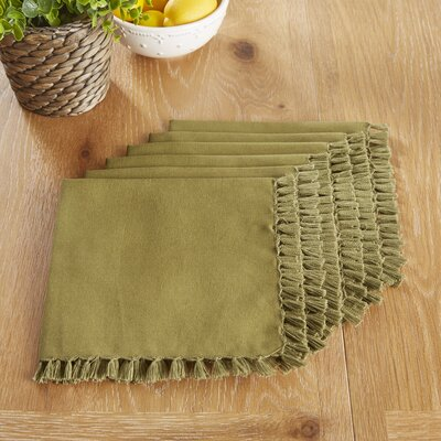 Robbinston Napkins Color: Olive Branch