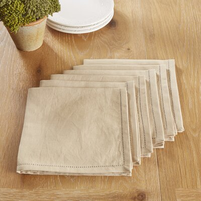 Harrogate Napkins Color: Taupe