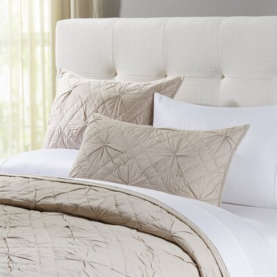 Loraine Taupe Sham Size: Lux