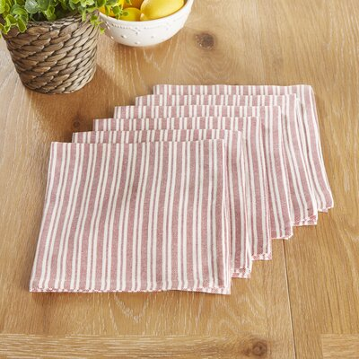 Hatchville Napkins Color: Barbados Cherry