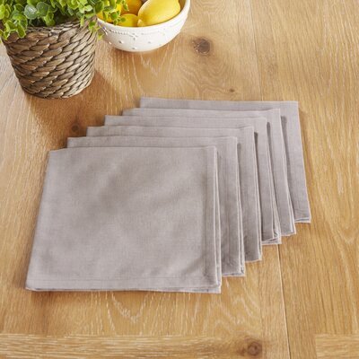 Mashpee Napkins Color: Gray