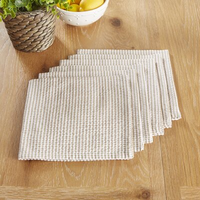 Stonington Napkins Color: Gray