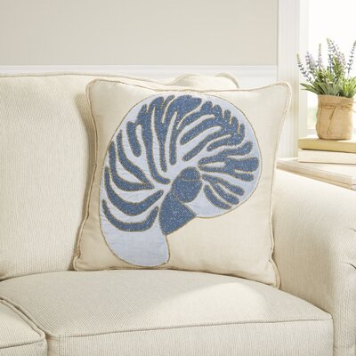 Shimmering Sea Conch Pillow