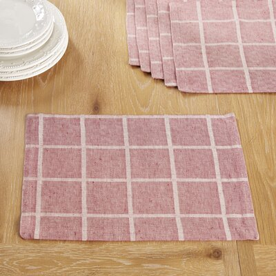 Jonesport Placemats Color: Red
