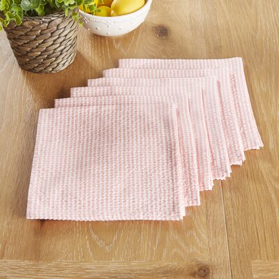 Stonington Napkins Color: Pink