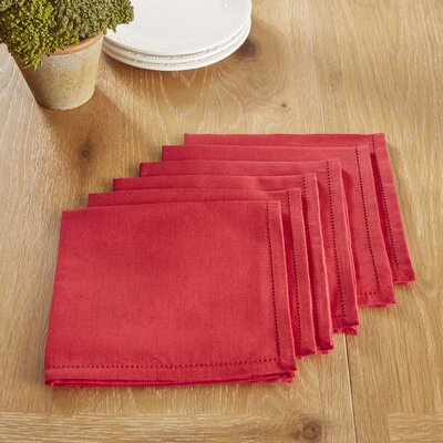 Harrogate Napkins Color: Barbados Cherry