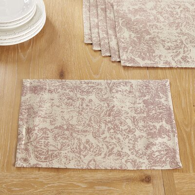Norbury Placemats Color: Crimson