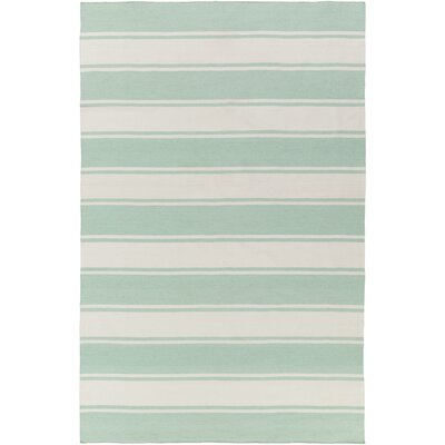 Anya Hand-Woven Indoor/Outdoor Area Rug Rug Size: Rectangle 8 x 10