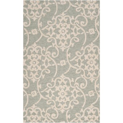 Rain Moss Indoor/Outdoor Rug Rug Size: 2' x 3'