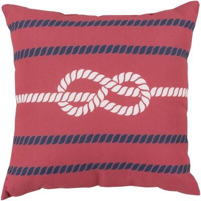 Figure Eight Polyester Throw Pillow