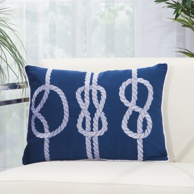Nautical Knot Outdoor Pillow