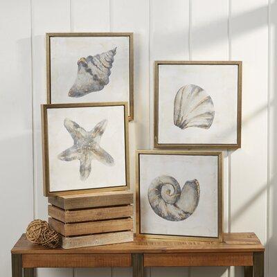 Ocean Icons Framed Prints