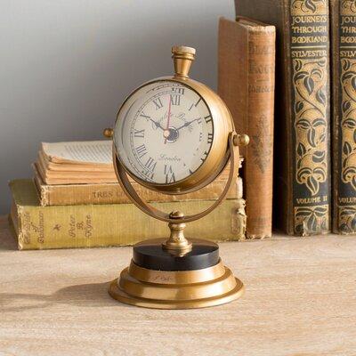 Edgar Table Clock