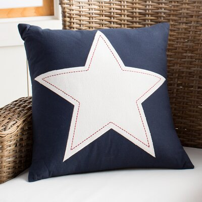 Nancy Pillow Color: Navy