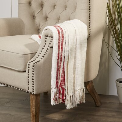Margerie Throw Color: Red