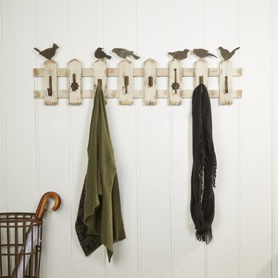 Picket Fence Coat Hooks