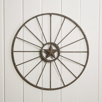 Rustic Wagon Wheel Wall Decor