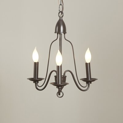 Hatfield 3-Light Candle-Style Chandelier