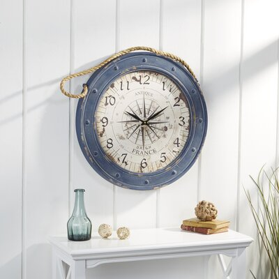 Seabrooke Compass Wall Clock