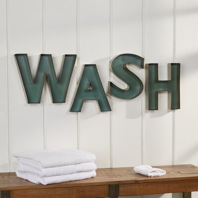 Wash Wall Decor
