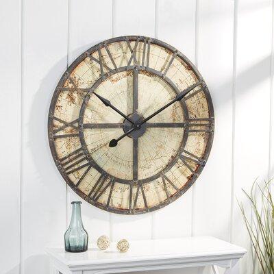 Bradley Round Oversized Wall Clock