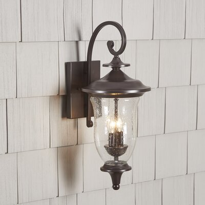Quarry 2-Light Outdoor Wall Lantern Size: 22 H x 9 W x 9 D