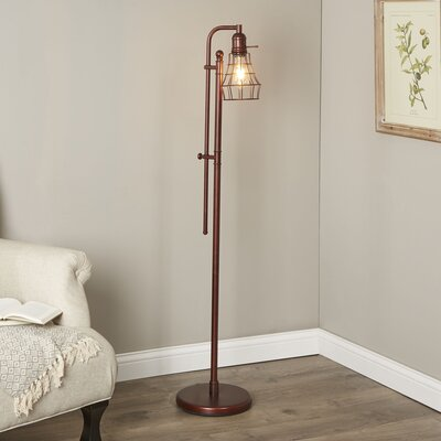 Domett LED Task Floor Lamp