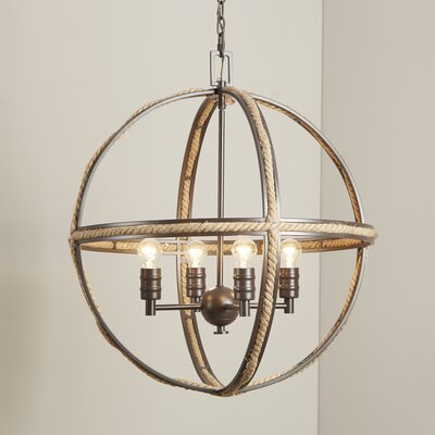 Kennett 4-Light Candle-Style Chandelier