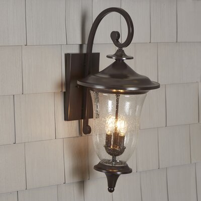 Quarry 2-Light Outdoor Wall Lantern Size: 26 H x 12 W x 12 D