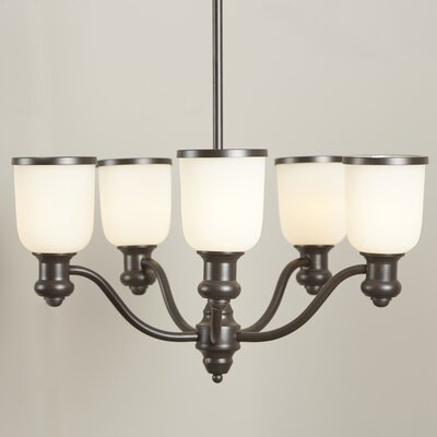 Somers 5-Light Shaded Chandelier