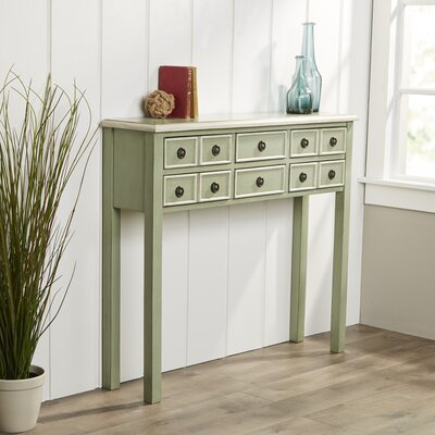 Birch Lane 6 Drawer Console Table
