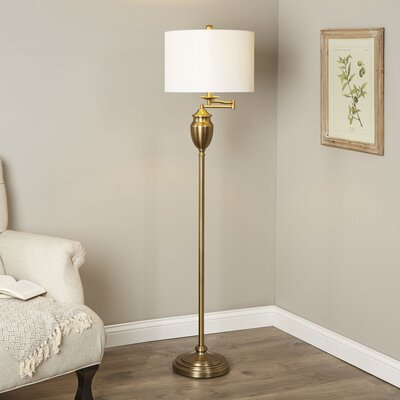 Aurora 60 Swing Arm Floor Lamp