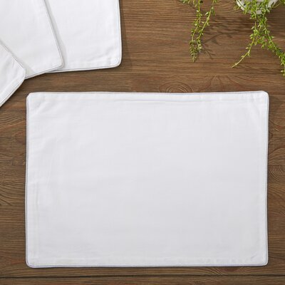 Linton Placemats Color: Silver
