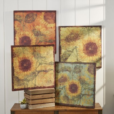 Sunflower Wall Canvases