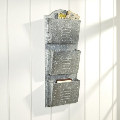 Birch Lane McClure Metal Wall Organizer