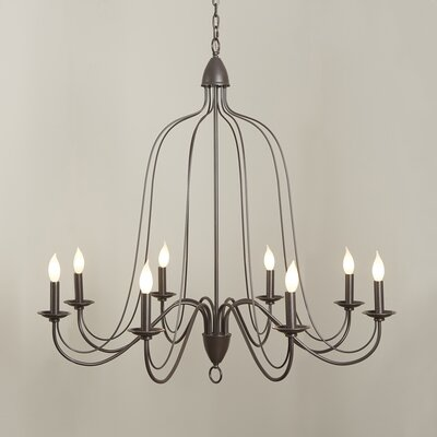 Hatfield 8-Light Candle-Style Chandelier