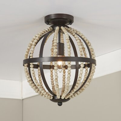 Dyer Beaded Flush Mount