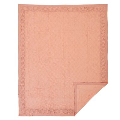 Krista Quilt Size: King, Color: Apricot