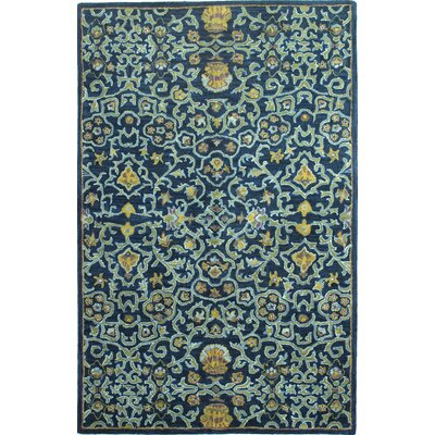 Greta Tufted Wool Area Rug Size: Rectangle 86 x 116