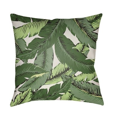 Tropical Leaf Outdoor Pillow